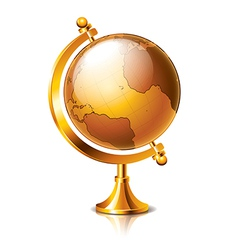 object vintage globe vector image