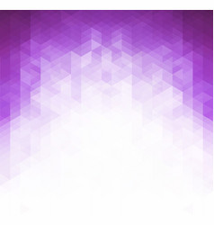 purple grid mosaic background creative design vector image