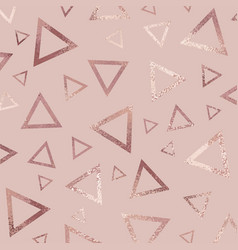 Rose gold abstract background for design vector