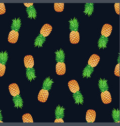 Tropical seamless pattern vector