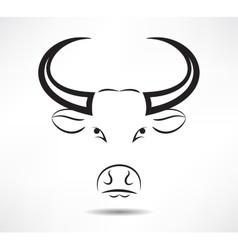 Bull icon vector image vector image