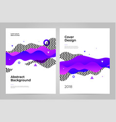 Cover design abstract background layout design vector