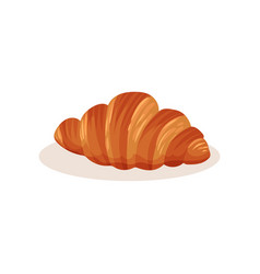 Croissant bakery pastry fresh product vector