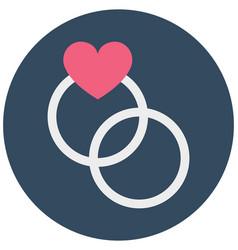 Gift femininity isolated icon editable vector