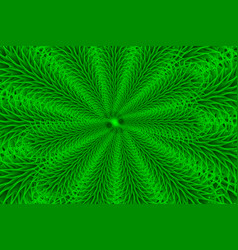 green branches - background vector image