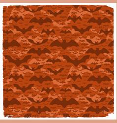 halloween grunge pattern vector image