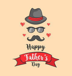 happy father day design collection vector image