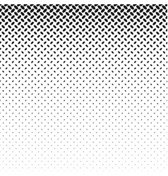 monochrome geometric halftone ellipse pattern vector image