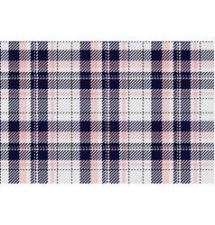 Plaid tartan seamless pattern in for shirt vector