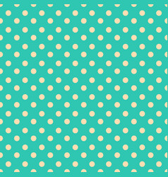 simple seamless polka dot background vector image