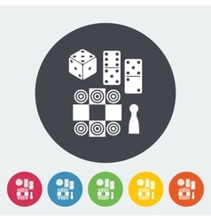 Table games vector image
