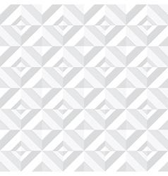 white geometrical pattern vector image