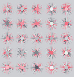 pattern of stars on gray background vector image