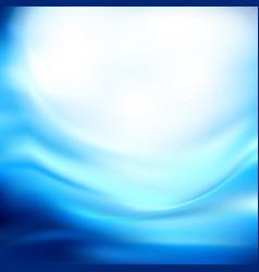 blue wave business template blue wave background vector image