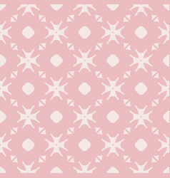 elegant minimalist floral seamless pattern vector image