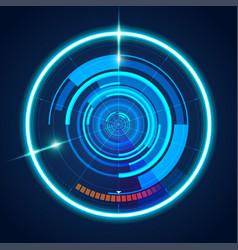 futuristic03 vector image
