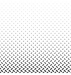 monochrome abstract repeating halftone ellipse vector image
