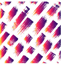 Seamless pattern with brush stripes and vector