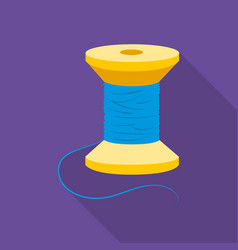 Spool of thread icon of for vector