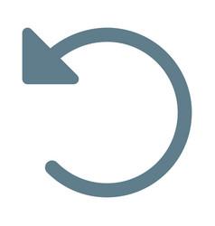Undo command tool button interface for correction vector