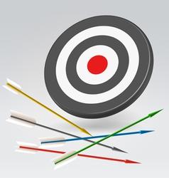 Unreachable archery target vector