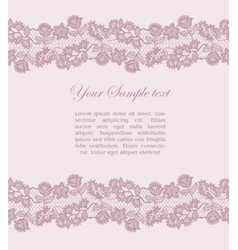 Vintage lacy background vector