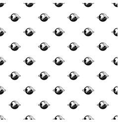 Worldwide pattern seamless vector