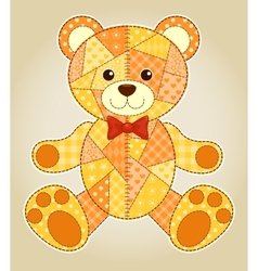 Application bear vector image vector image