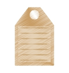 drawing wooden cutting board kitchen and cooking vector image