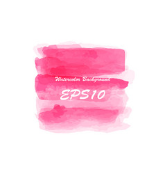 colored watercolor background vector image vector image