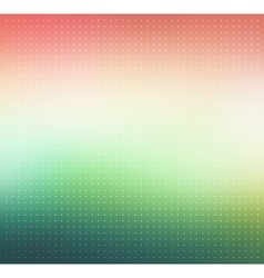 Pink and green gradient Dotted background vector image vector image