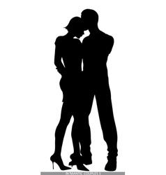 romantic couples vector image