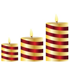 Glowing Candles Set2 vector