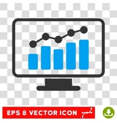 Monitoring Eps Icon vector