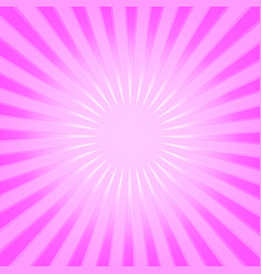 Pink radial background vector