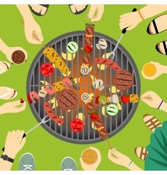Barbeque party vector image