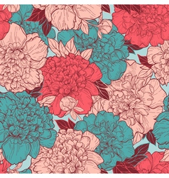 Seamless background with beautiful pattern vector image vector image