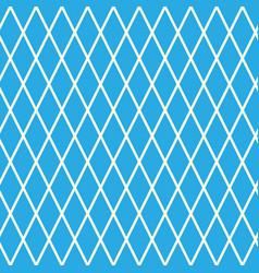 Rhombus on blue background vector