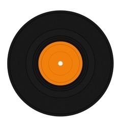 vinyl record icon image vector image