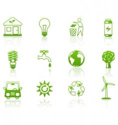 environment green vector image vector image