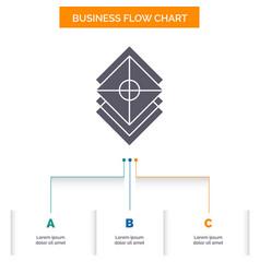 Arrange design layers stack layer business flow vector