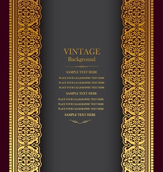 Book cover royal vector
