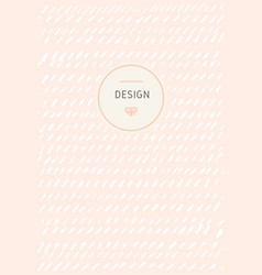 Creative template card vector