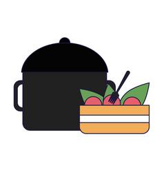 Delicious food concept vector