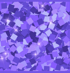 Glitter seamless texture adorable purple vector