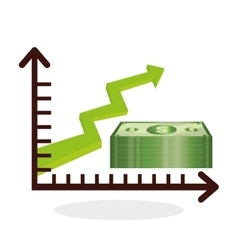 Global economy design financial and money concept vector image