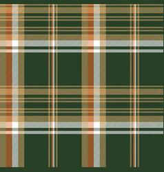 Green tartan check plaid seamless pattern vector