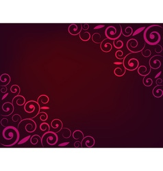 Greeting card background vector image