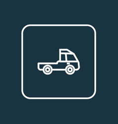 prime-mover outline symbol premium quality vector image