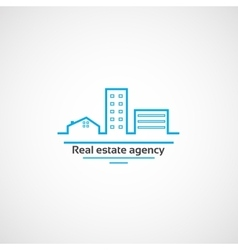 Real estate agency vector